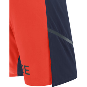 GORE WEAR R7 Pantalones cortos Hombre, azul/naranja